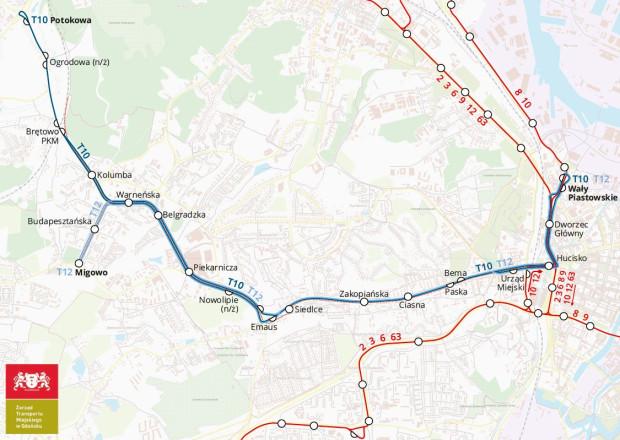 W niedzielę 25 sierpnia będą funkcjonować dwie dodatkowe linie autobusowe z centrum Gdańska przed Siedlce na Morenę - T10 i T12.