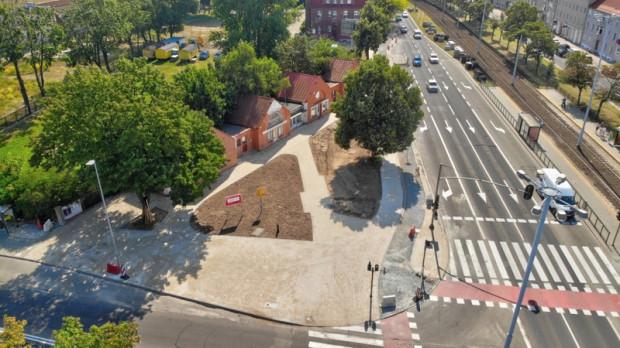 W listopadzie zakończy się budowa drogi rowerowej wzdłuż al. Legionów.