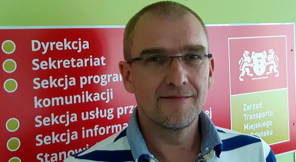 Wojciech Siółkowski od poniedziałku jest wicedyrektorem ZTM.