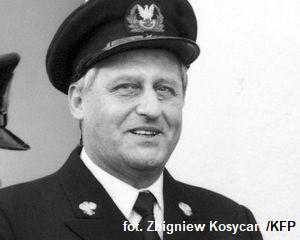 Admirał Piotr Kołodziejczyk na zdjęciu z 1986 r.