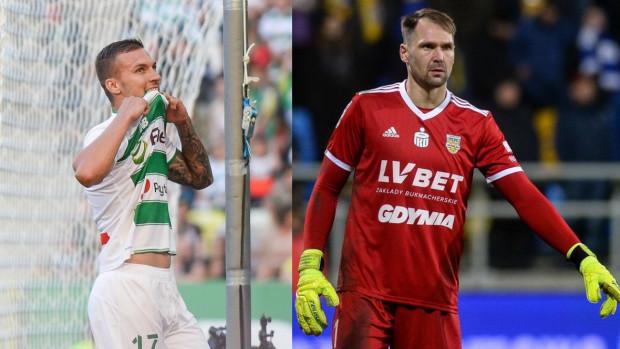 Lukas Haraslin (z lewej) i Pavels Steinbors (z prawej) nie będą dobrze wspominali pierwszych meczów podczas tej przerwy reprezentacyjnej.
