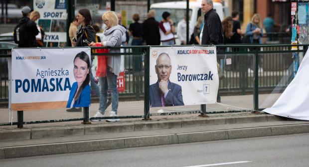 Przybywa Plakatów Wyborczych Część W Niedozwolonych Miejscach