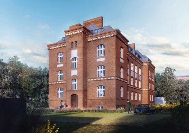 Elewacja budynku zostanie przywrócona do dawnej świetności ze wszyskimi detalami.