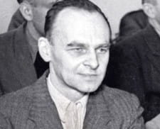 Rtm. Pilecki podczas swojego procesu w 1948 r.