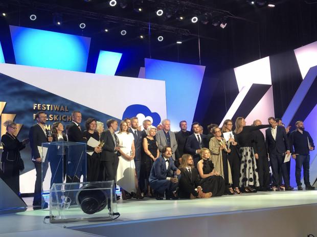 Laureaci 44. Festiwalu Polskich Filmów Fabularnych w Gdyni.