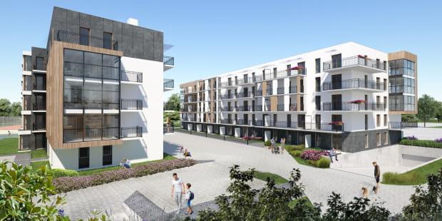 Balkony, tarasy, przydomowe ogródki, duże przeszklenia - każdy dopasuje tu mieszkanie zgodne z własnymi potrzebami.