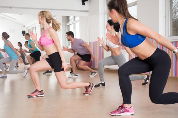 Zajęcia w grupie dodają motywacji do ćwiczeń.
