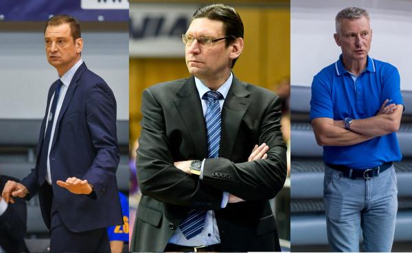 Trenerzy trójmiejskich klubów: Gundars Vetra (Arka Gdynia, z lewej), Vadim Czeczuro (DGT Politechnika Gdańska, w środku) i Włodzimierz Augustynowicz (AZS Uniwersytet Gdański, z prawej) podsumowali inaugurację sezonu, a także powiedzieli, czego możemy spodziewać się po ich zespołach w obecnych rozgrywkach.