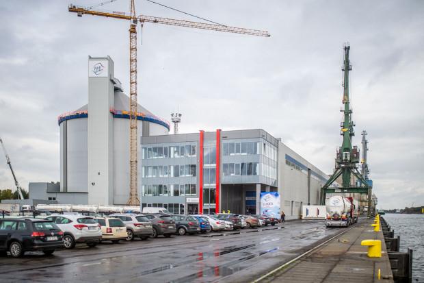 Terminal Cukrowy w Porcie Gdańsk otworzyła właśnie Krajowa Spółka Cukrowa.