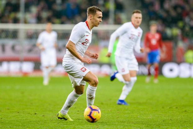 Przemysław Frankowski zdobył gola dla reprezentacji Polski w meczu z Macedonią Północną. Zwycięstwo zapewnił biało-czerwonym awans na Euro 2020.