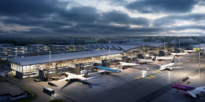 Аэропорт в Гданьске получит новый терминал