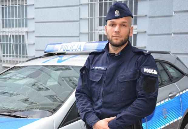 Sierżant Kruszyński był zdeterminowany, wiedział, że obrażenia są poważne i zagrażają życiu mężczyzny, chodziło o jak najszybsze zatamowanie krwotoku.