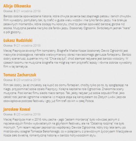 """Tak niedawno film """"Ikar. Legenda Mietka Kosza"""" na gorąco recenzował zespół Trojmiasto.pl podczas 44. Festiwalu Polskich Filmów Fabularnych w Gdyni."""