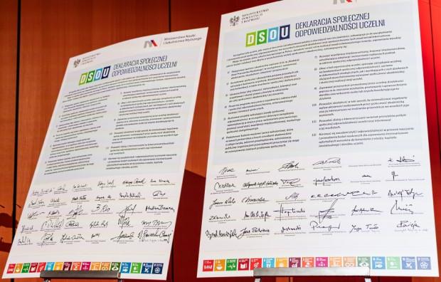 Deklaracja społecznej odpowiedzialności uczelni.