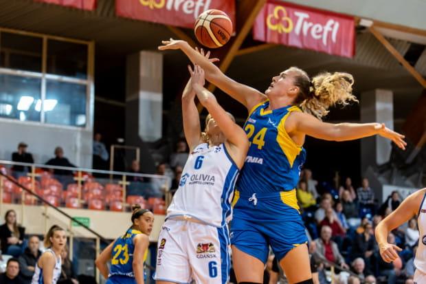 Marie Gulich pod koszem nie miała sobie równych. W pierwszej kwarcie zdobyła 17 punktów. Do końca spotkania nikt nie przebił tego wyniku.