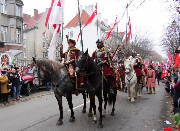 W zeszłym roku w Gdańsku udział w Paradzie Niepodległości wzięło 30 tys. mieszkańców.
