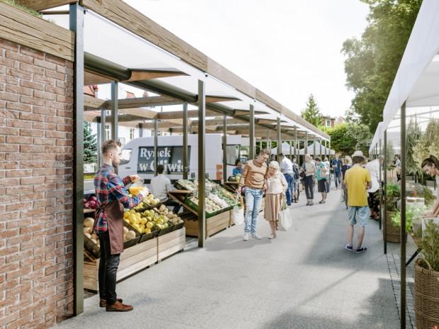 Dni handlowe na oliwskim targowisku to środa i sobota. Po zmianach, plac ma tętnić życiem w sezonie przez cały weekend.