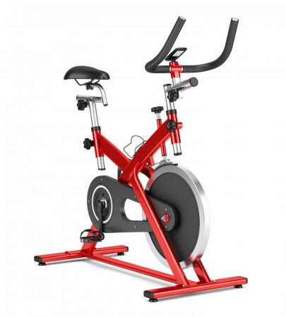 Rower spinningowy wzorowany jest na rowerach kolarskich.