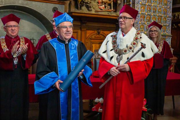 Prezydent MKOl z tytułem doctora honoris causa UG