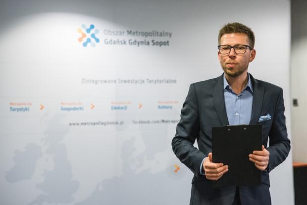 Michał Glaser, dyrektor biura Obszaru Metropolitalnego