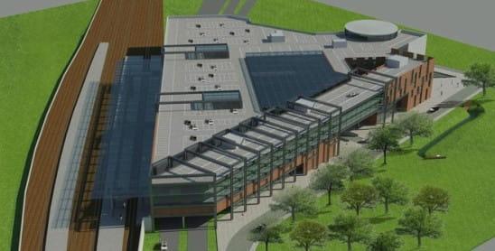 Nowy obiekt handlowy zajmie trójkątną działkę pomiędzy torami kolejowymi i ul. Kilińskiego, użytkowaną niegdyś przez wrzeszczański browar.