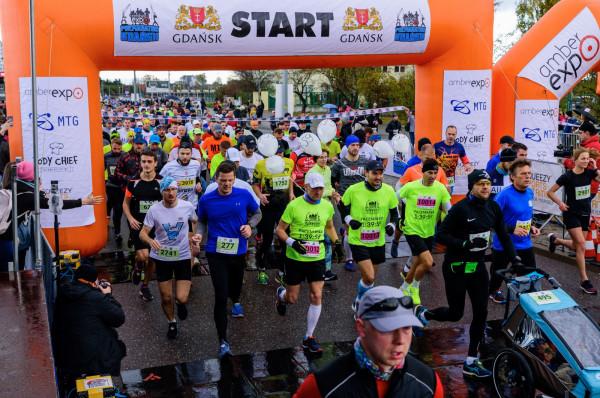 Gdańskiemu półmaratonowi w sobotę i niedzielę towarzyszyć będą biegi na krótszych dystansach.