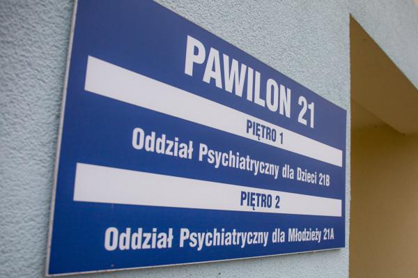 Wojewódzki Szpital Psychiatryczny w Gdańsku jako jedyny zabezpiecza na terenie Trójmiasta i okolic opiekę psychiatryczną dzieci i młodzieży w stanie zagrożenia życia. Tylko w 2018 r. szpital przyjął ponad 4,6 tys. pacjentów, w tym w trybie nagłym 4,3 tys. pacjentów.