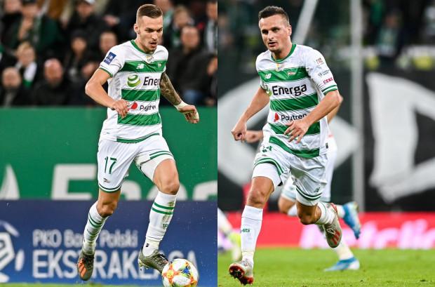 Lukas Haraslin (z lewej) i Sławomir Peszko (z prawej) mają duży wpływ na grę Lechii Gdańsk. Obaj skrzydłowi w ostatnim czasie nie byli jednak w optymalnej dyspozycji.