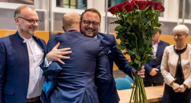 Marek Łucyk został wiceprezydentem w listopadzie 2018 roku. Wcześniej nie przyjął mandatu radnego, którym - decyzją wyborców - został wybrany w wyborach samorządowych.