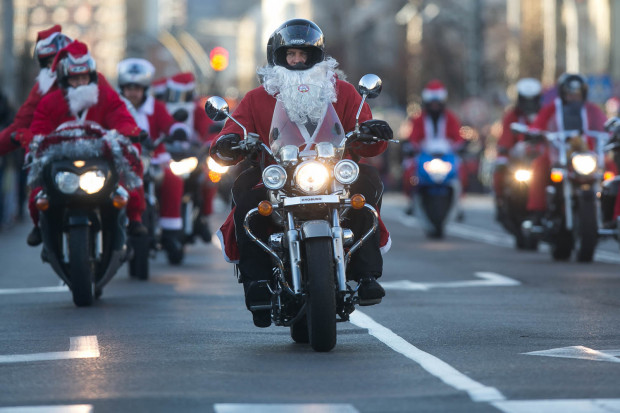 Mikołaje na motocyklach przejadą przez Trójmiasto już 1 grudnia