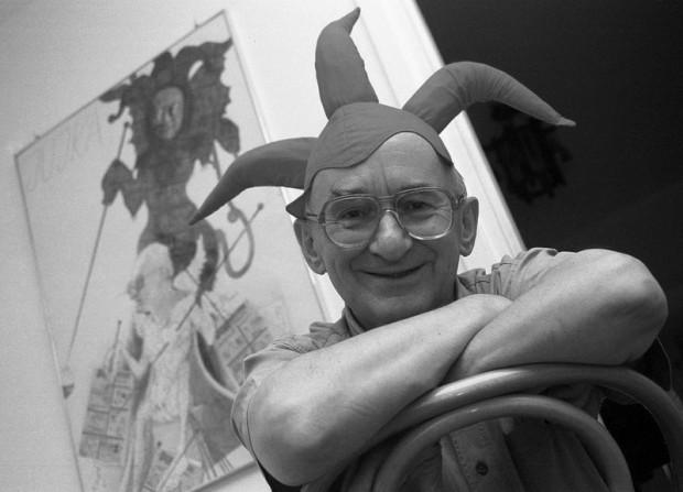 """Zbigniew Jujka był satyrykiem, karykaturzystą, autorem niezwykle popularnego """"Dzienniczka"""", publikowanego przez lata w Dzienniku Bałtyckim."""