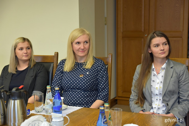 Laureatki konkursu (od lewej): Angelika Popowicz, Anna Małka i Rosita Gołembiewska