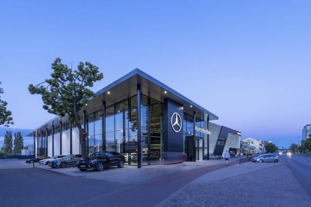 Salon Mercedes-Benz Witman znajdziecie w Gdańsku przy al. Grunwaldzkiej 493.