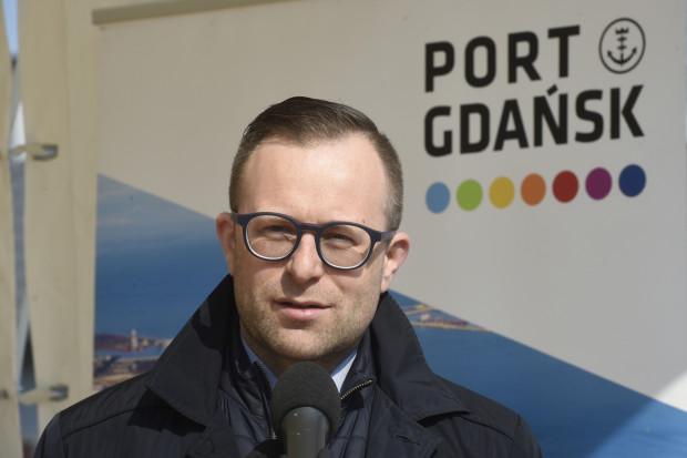 Marcin Osowski pracował w Porcie Gdańsk od października 2016 roku.
