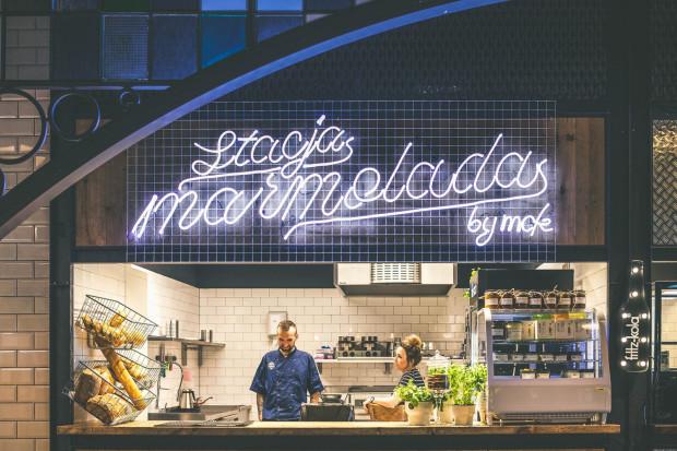 Śniadania w Stacji Food Hall serwuje m.in. Stacja Marmolada.