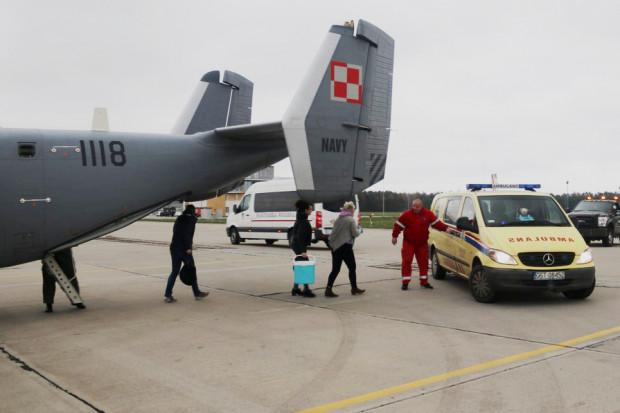 W ubiegłym tygodniu 43. Baza Lotnictwa Morskiego w Gdyni-Babich Dołach pomogła w transporcie serca do przeszczepu z Poznania do Gdańska.