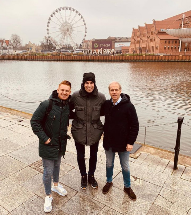 Gwiazda holenderskiej i europejskiej piłki nożnej, Robin van Persie, odwiedził Gdańsk. O wizycie napisał na swoim profilu facebookowym.