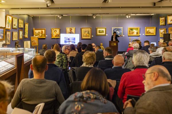 Aukcja Dzieł Sztuki w Sopocie przyciągnęła wielu miłośników i inwestorów.
