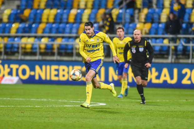 Marko Vejinović przyznał, że Szymon Marciniak, który nie uznał gola Arce Gdynia w doliczonym czasie gry, doprowadził do wyniku końcowego, który wcale nie był marzeniem żółto-niebieskich.