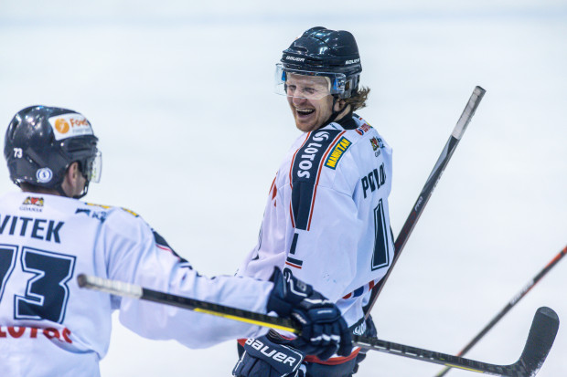 Petr Polodna miał udział przy 3 z 6 bramek Lotosu PKH.