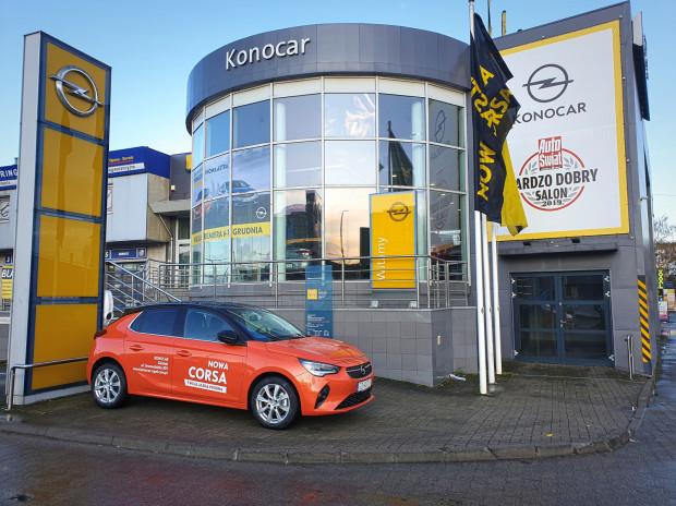 Najnowsza Corsa dostępna w salonie Opel Konocar.