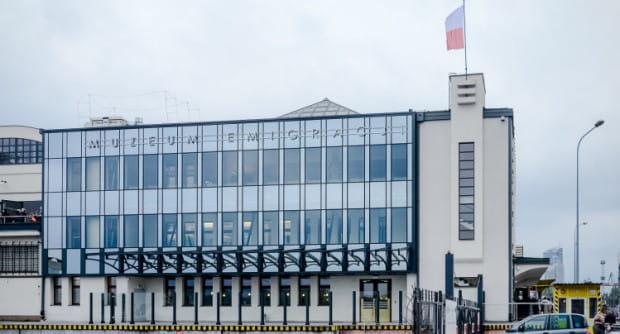 Muzeum Emigracji w budynku dawnego Dworca Morskiego rozpoczęło działalność w 2015 r.