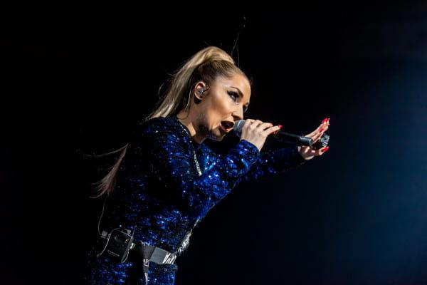 Jedna z głównych gwiazd koncertu - Cleo.
