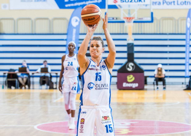 Żanet Szczęśniak (nr 15) wyrównała swój najlepszy wynik w tym sezonie. Zdobyła 13 punktów, tyle samo co w starciu z DGT Politechniką Gdańską.