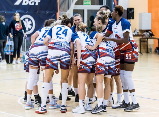 Koszykarki DGT Politechniki Gdańskiej wygrały z Wisłą Kraków 70:63 mimo, że w trzeciej kwarcie przegrywały różnicą 11 punktów.