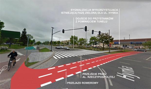 Przejścia naziemnego przez al. Rzeczypospolitej nie udało się zrealizować w ramach Budżetu Obywatelskiego, ale jest szansa, że powstanie ono w 2021 roku z miejskich pieniędzy.