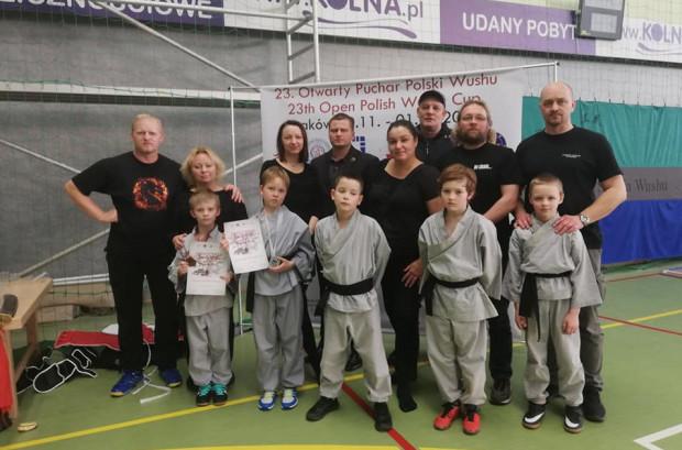 Reprezentanci Shaolin Kung Fu Gdynia w Krakowie brylowali w kategorii do lat 9. Młodsi dali przykład starszym.