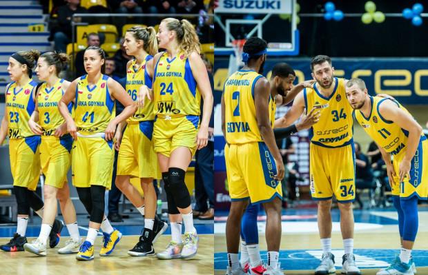 Fani koszykówki w Gdyni będą mieli nie lada gratkę w środowy wieczór. Będą mogli go rozpocząć od spotkania koszykarek Arki w hali GCS, by po jego zakończeniu ruszyć się do Gdynia Areny, gdzie zagrają koszykarze Asseco Arki.