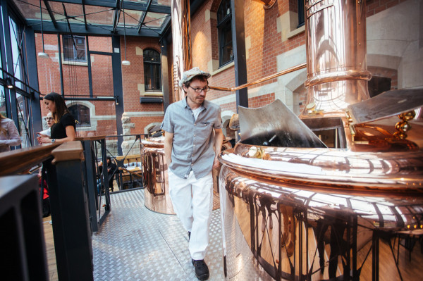 Główny piwowar PG4 Johannes Herberg przygotował specjalne piwo Gdańskie Mocne.