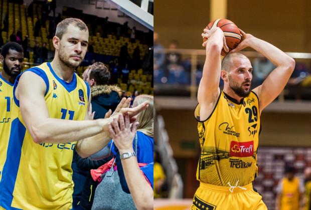 Bartłomiej Wołoszyn (z lewej, Asseco Arka Gdynia) i Paweł Leończyk (z prawej, Trefl Sopot) zgodnie przyznają, że ich ekipy będą faworytami w meczach odpowiednio z MKS Dąbrową Górniczą i Eneą Astoria Bydgoszcz.